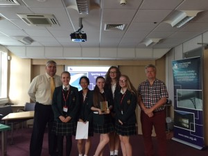 This year's Sporting Wonder Challenge winners from Durham High School